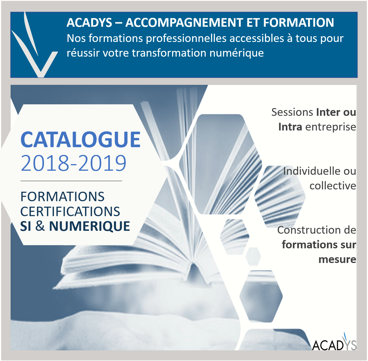 Catalogue Formation 2018-2019